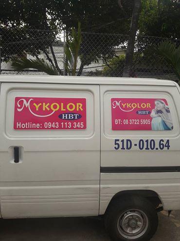 giao nhận sơn Mykolor